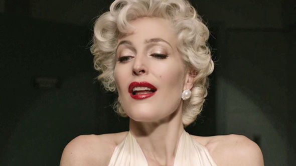 American Gods Gillian Anderson sexy Marilyn Monroe