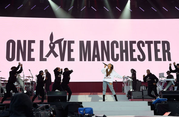 Ariana Grande put on the benefit concert for the victims