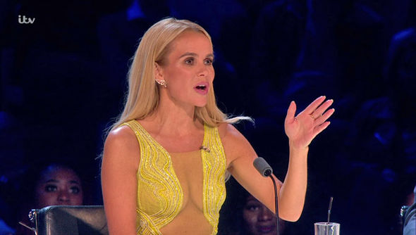 Britain's Got Talent Amanda Holden racy outfits