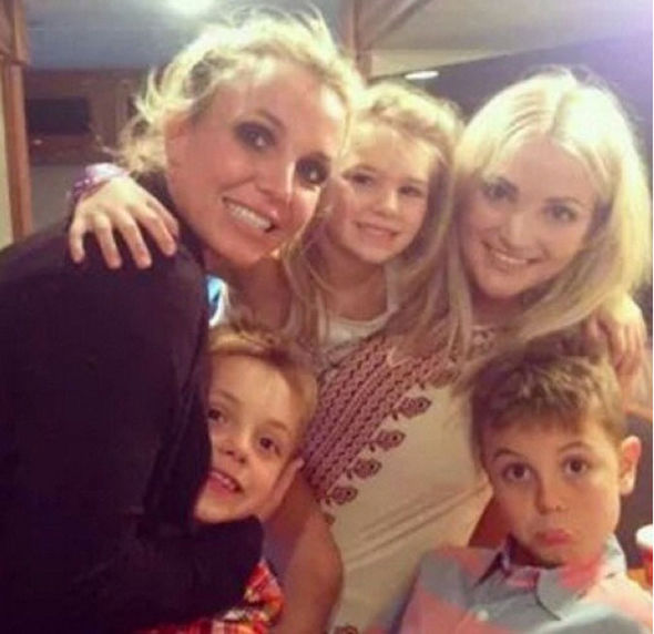 Britney Spears Maddie Aldridge hospital Jamie Lynn