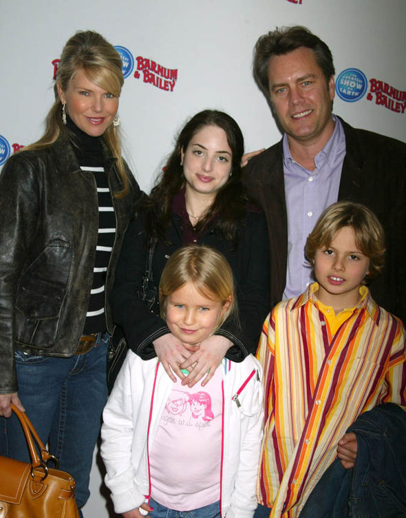 Christie Brinkley, Peter Halsey Cook and children