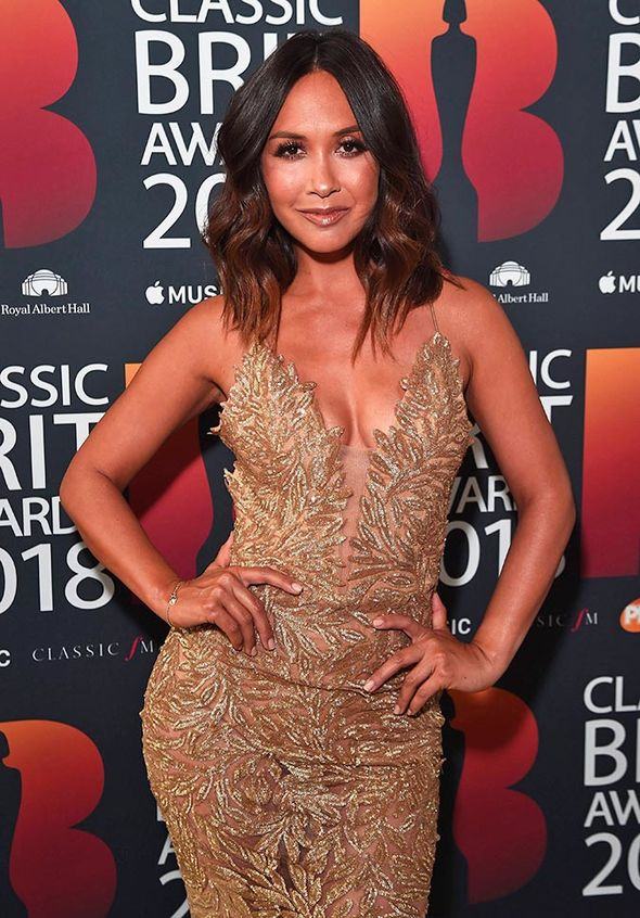 Classic BRITs 2018: Charlotte Hawkins was joined by host Myleene Klass at the event