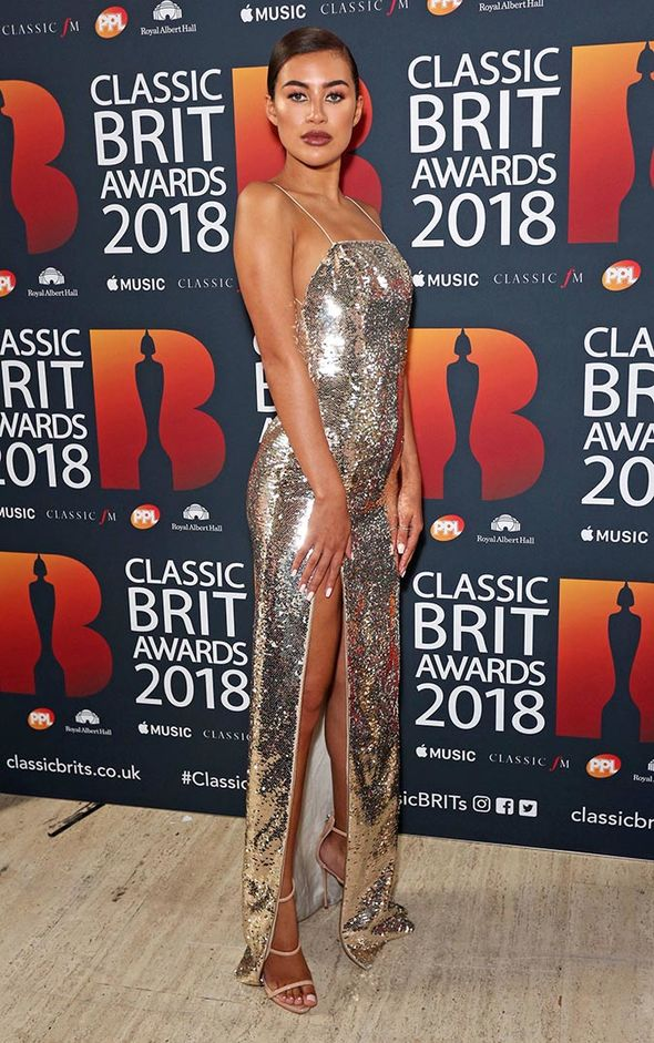 Classic BRITs 2018: Charlotte Hawkins was also joined by Montana Brown