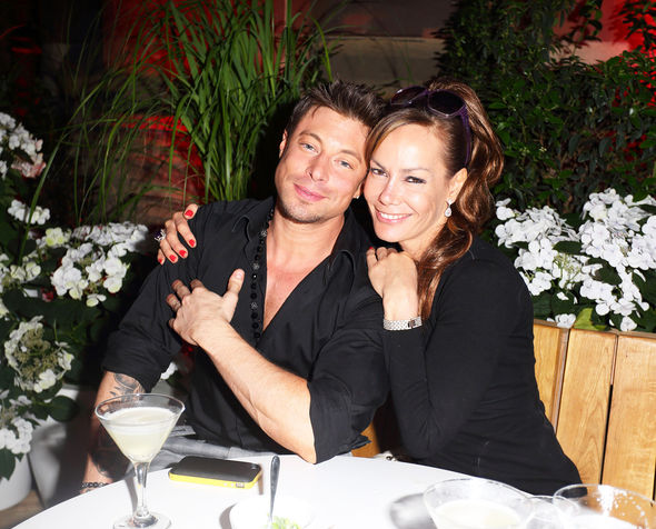 Duncan James close friends Tara Palmer-Tomkinson