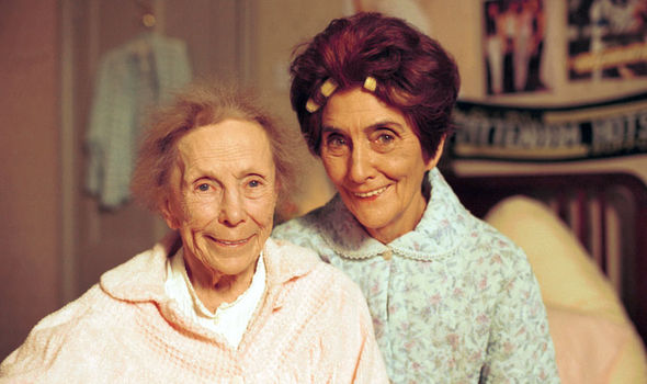 Ether Skinner and Dot Branning on EastEnders