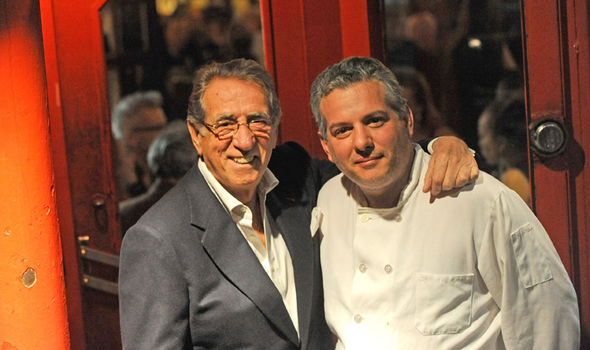 Sopranos star Frank Pellegrino was also known for his restaurant Rao's