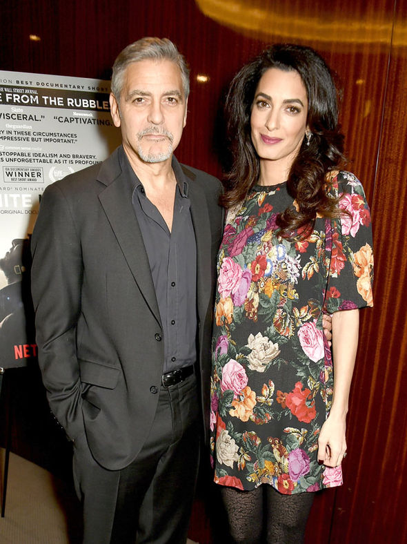George and Amal Clooney are said to be expecting twins