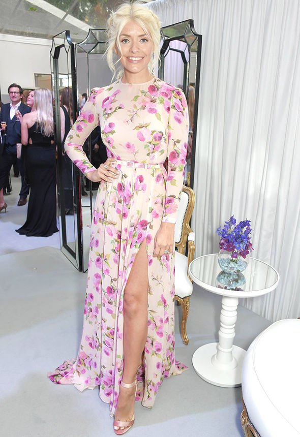 Glamour Awards 2017 Holly Willoughby Christine Bleakley worse for wear