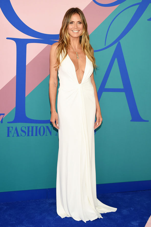 Heidi Klum looked phenomenal at the event