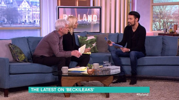 Holly Willoughby Phillip Schofield Rylan Clark Neal