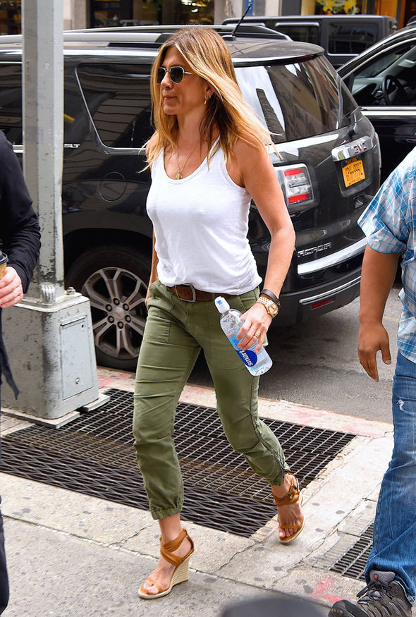 Jennifer Aniston in New York