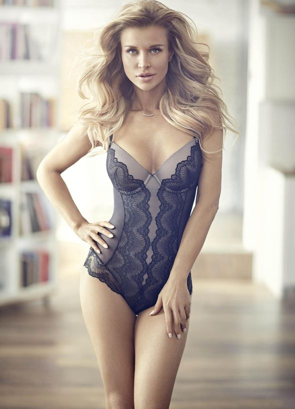 Joanna Krupa Sets Pulses Racing As She Flaunts Major Cleavage In Sexy Lingerie Campaign