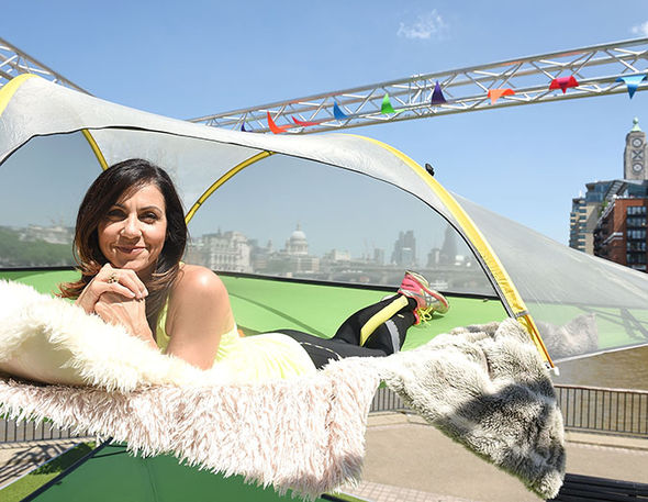 Julia Bradbury pole dancing regret Countryfile kids
