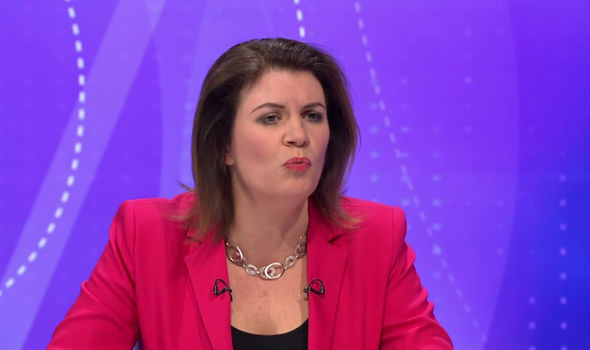 Many lashed out at talkSPORT host Julia Hartley-Brewer