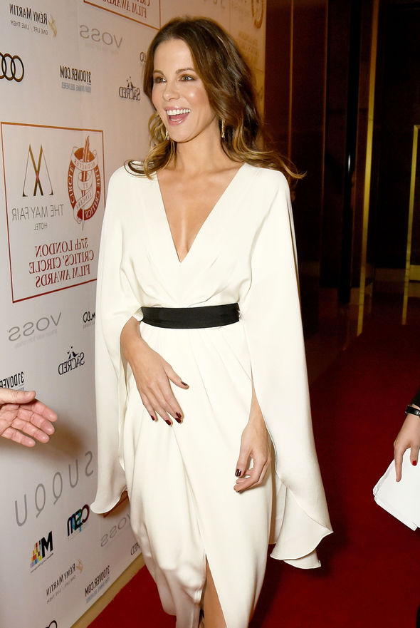 Kate Beckinsale picked up an award on the night
