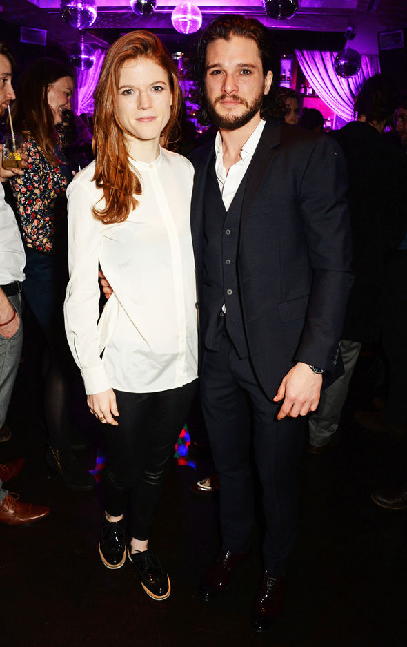 Kit Harrington's girlfriend Rose Leslie