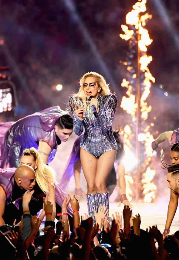 Lady Gaga showed off her talents