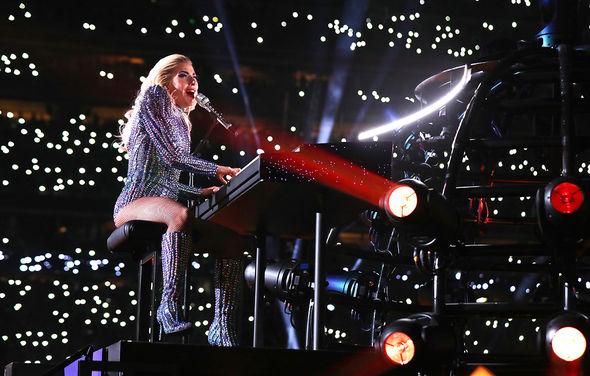 Lady Gaga showed off her vocal skills