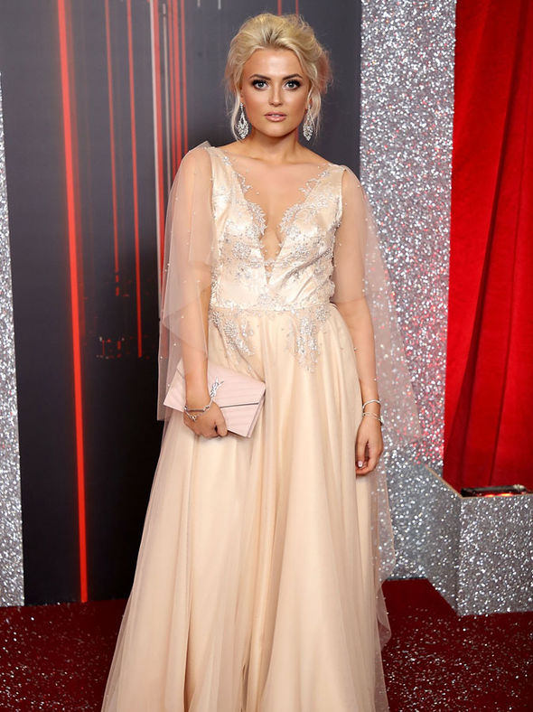British Soap Awards 2017 Lucy Fallon Flashes Generous