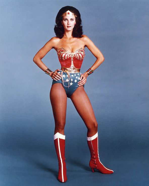 Lynda as Wonder Woman