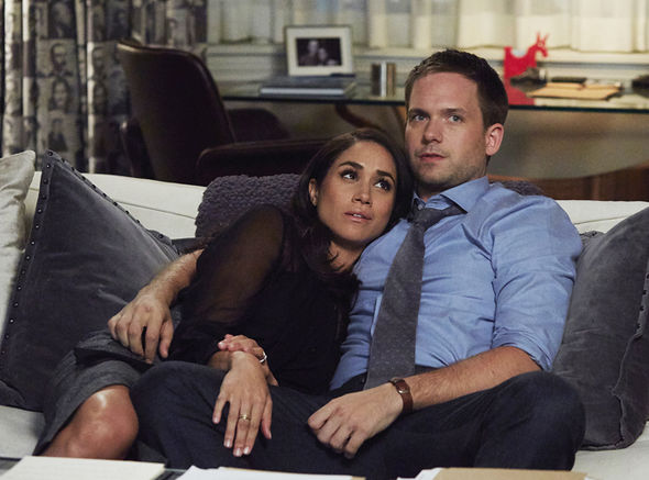 Meghan Markle and Patrick J Adams