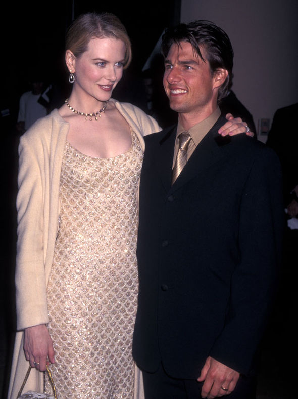 Nicole Kidman with former husband Tom Cruise