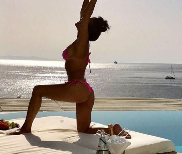 Nicole Scherzinger Sexy Instagram Bikini Birthday
