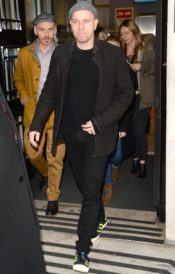 Piers Morgan Ewan McGregor Sharon Osbourne The Talk Good Morning Britain