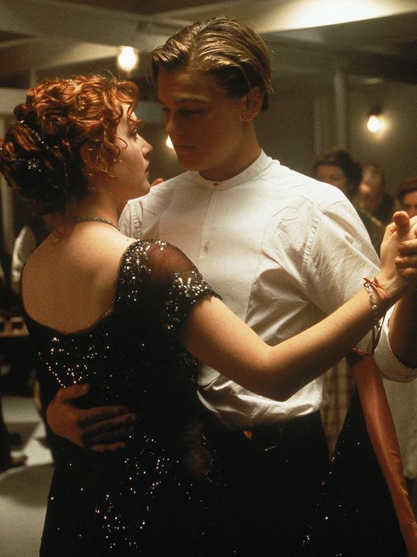 Rose Dawson Calvert and Jack Dawson dancing