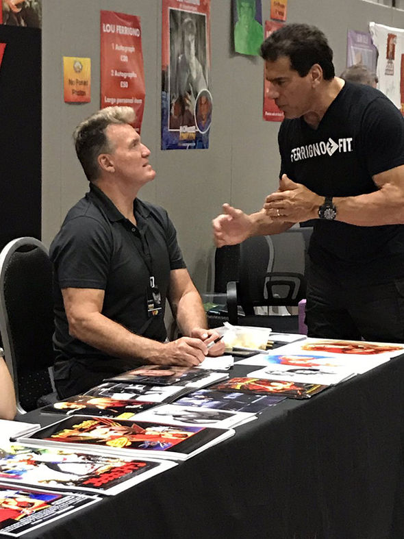 Sam J Jones Lou Ferrigno