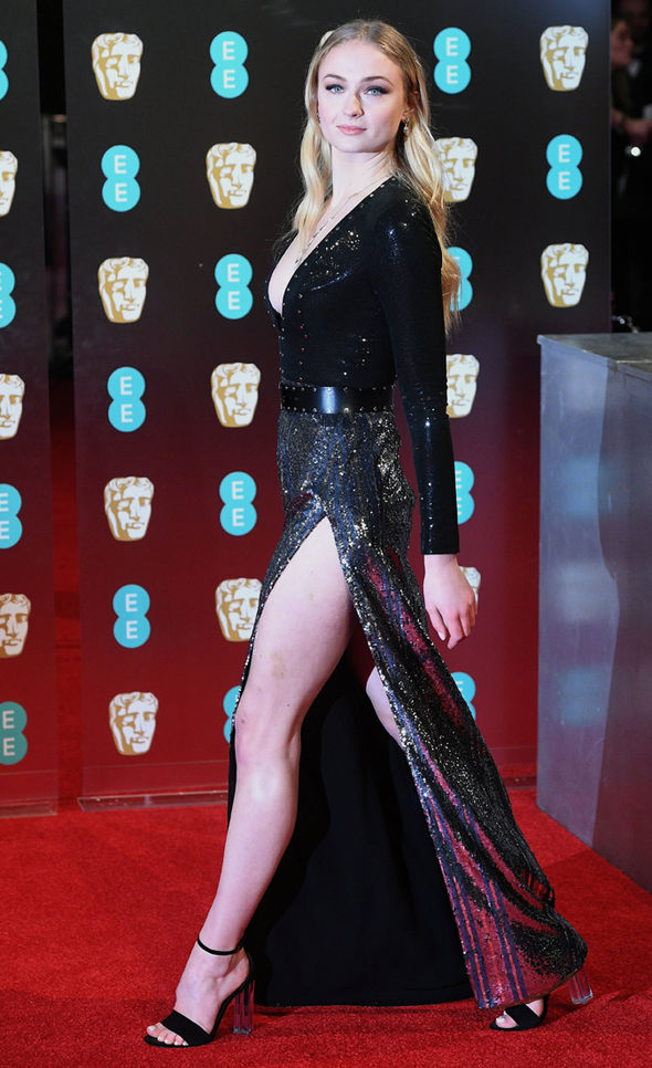 Game of Thrones star Sophie Turner rules the red carpet at the BAFTAS 2017