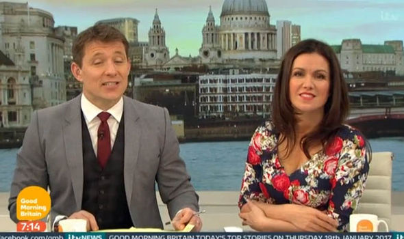 Susanna Reid hosts Good Morning Britain