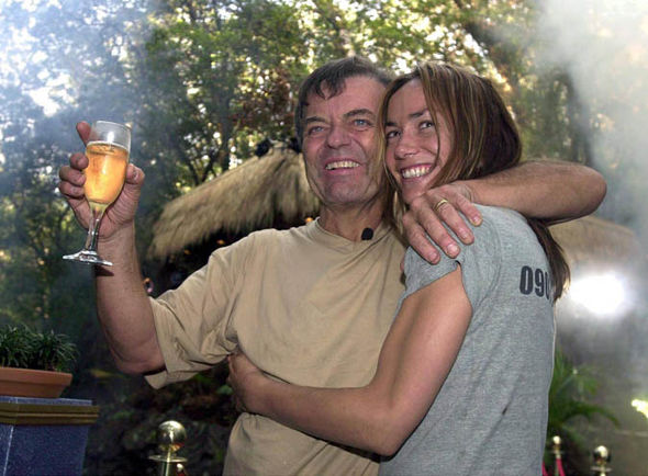 Tara Palmer-Tomkinson and Tony Blackburn