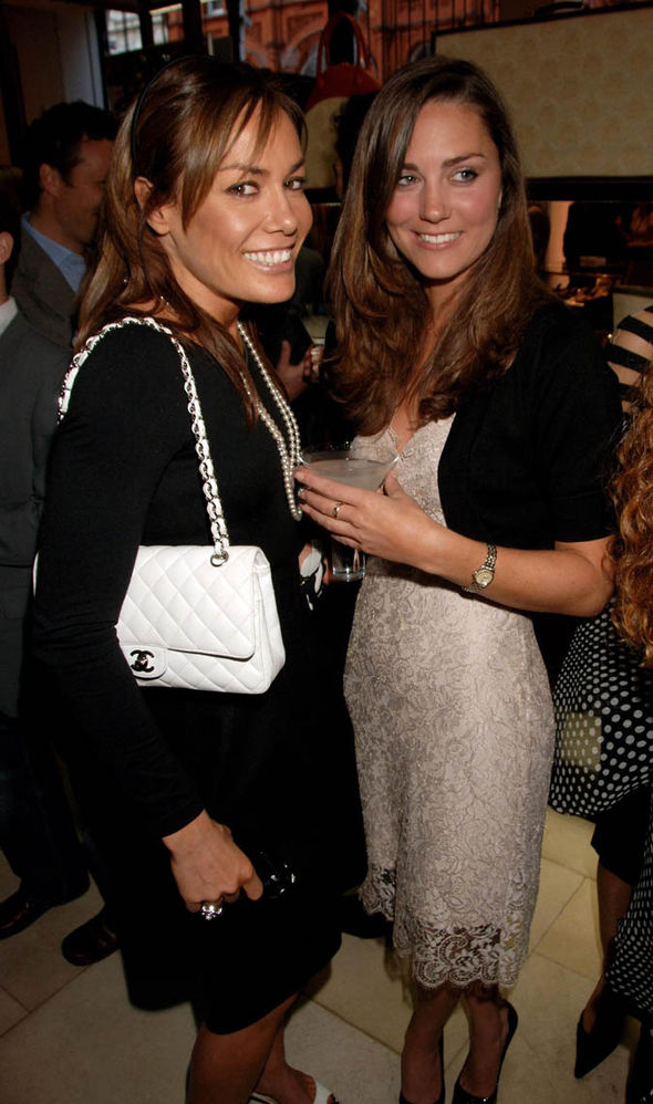 Tara Palmer-Tomkinson with Kate Middleton