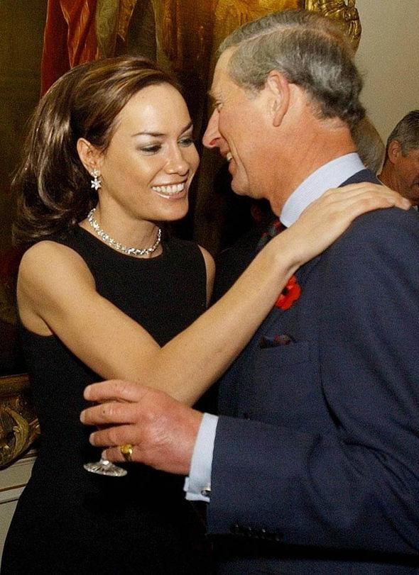 Tara Palmer-Tompkinson with Prince Charles