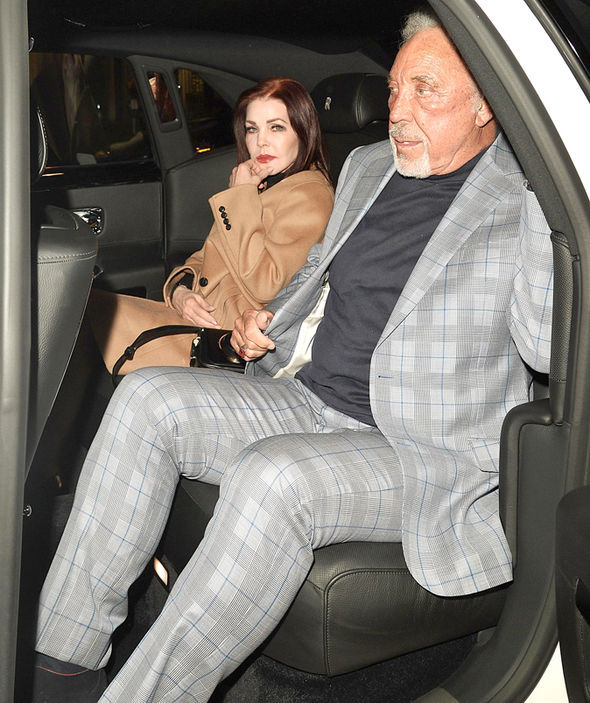 The singer and actress enjoyed an evening out