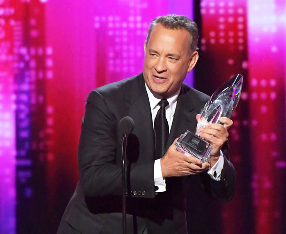 Tom Hanks won an award People's Choice Awards