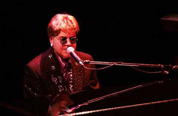 Ultimate Elton, real name Paul Bacon, performed at Sheila's 90th