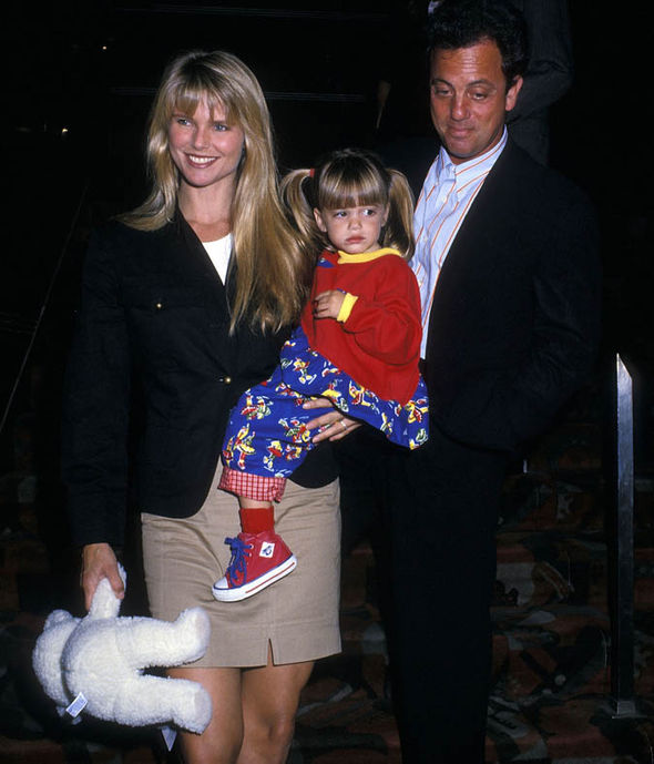 Christie Brinkley, Billy Joel and Alexa Ray