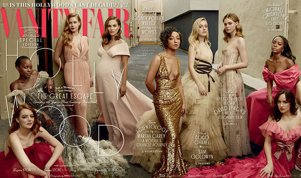 The likes of Emma Stone, Natalie Portman and Amy Adams grace this year's cover