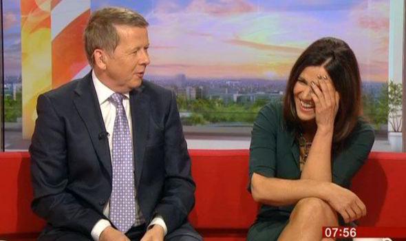How BBC Breakfast's Susanna Reid melted an Arctic Monkey ...