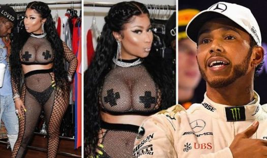Lewis Hamilton: F1 star's rumoured girlfriend Nicki Minaj ...