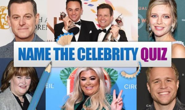 Name the celebrity quiz questions and answers: 15 ...