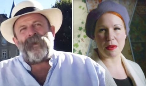 Dick Strawbridge reacts to worried Escape To The Chateau fan after Angel's attic update
