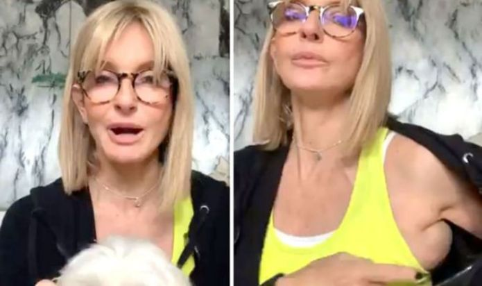 Jacquie Beltrao talks 'unattractive swelling' hours before Sky News return after operation