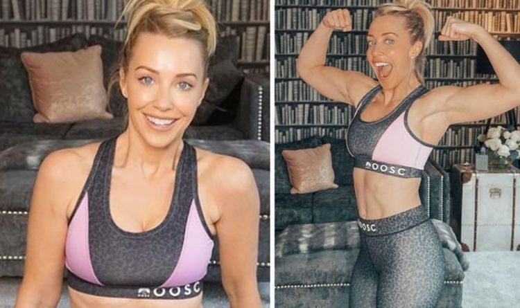 A Place In The Sun presenter Laura Hamilton exposes 'killer body' in tight workout gear