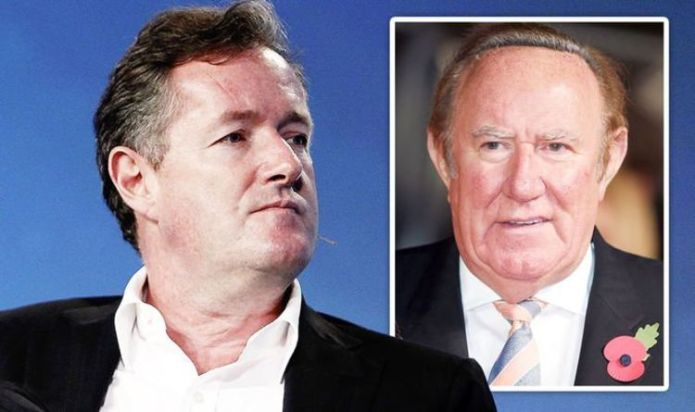 Piers Morgan's fury over Andrew Neil 'writing load of ill-informed rubbish'