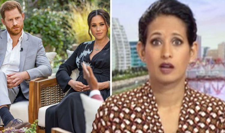 Naga Munchetty scolds BBC co-star for admitting Royal Family debate's sending him to sleep