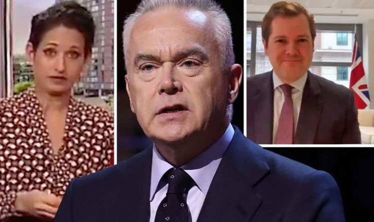 Now Huw Edwards is 'ordered' by BBC to delete flag tweet defending Naga Munchetty