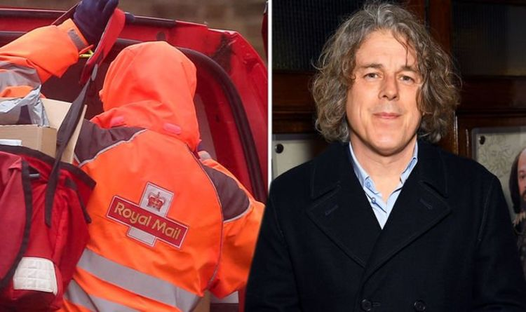 Jonathan Creek actor Alan Davies warns of Royal Mail scam 'Don't do what it says'